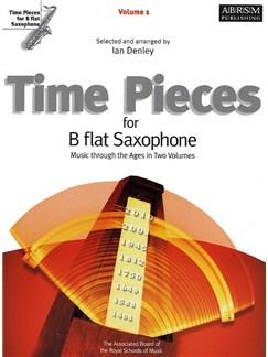 Time Pieces For B Flat Saxophone - Volume 1 Books | Tenor Saxophone, Piano Accompaniment