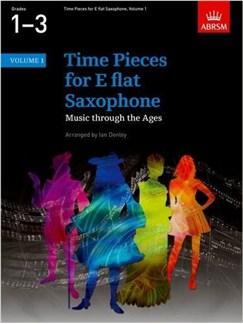 Time Pieces For E Flat Saxophone - Volume 1 Books | Alto Saxophone, Baritone Saxophone, Piano Accompaniment