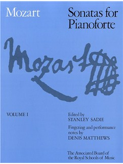 W.A. Mozart: Sonatas For Pianoforte Volume 1 (ABRSM) Books | Piano