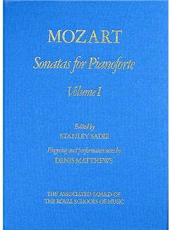 W.A Mozart: Sonatas for Pianoforte - Volume I Hardback (eds. Sadie/Matthews) Books | Piano