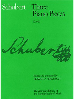 Schubert: Three Piano Pieces D.946 Books | Piano
