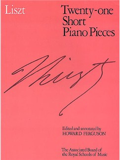 Franz Liszt: Twenty-One Short Piano Pieces Books | Piano