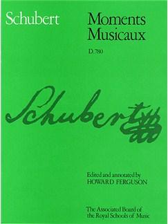 Schubert: Moments Musicaux D.780 Books | Piano