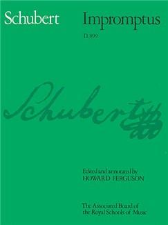 Franz Schubert: Impromptus D.899 Books | Piano
