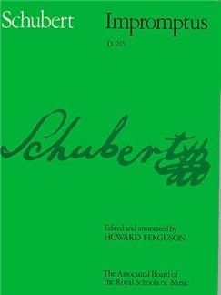 Franz Schubert: Impromptus D.935 Books   Piano