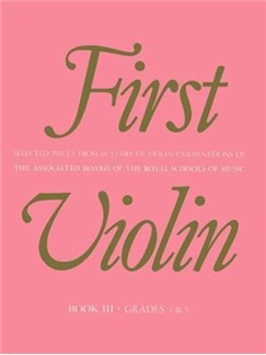 First Violin Book 3 Grades 4-5 Books | Violin, Piano Accompaniment