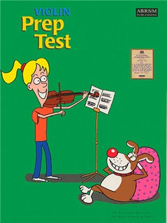 ABRSM: Violin Prep Test Books | Violin