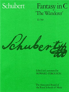 Franz Schubert: Fantasy in C 'The Wanderer' Books | Piano