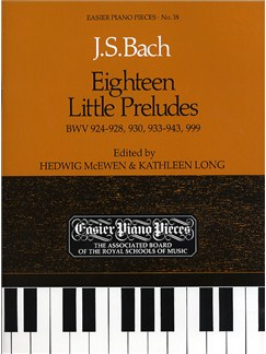 J.S. Bach: Eighteen Little Preludes Books | Harpsichord, Piano