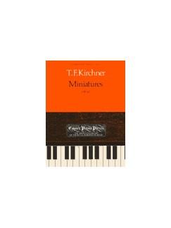 Theodor Fürchtegott Kirchner: Miniatures Op.62 Books | Piano