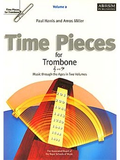 Time Pieces For Trombone Volume 2 Books | Trombone and Piano