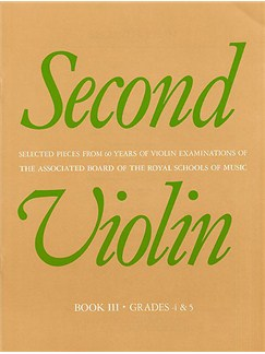 Second Violin Book III Books | Violin, Piano Accompaniment