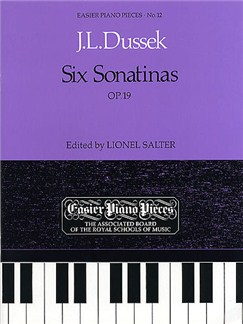 J.L.Dussek: Six Sonatinas Op.19 Books | Piano