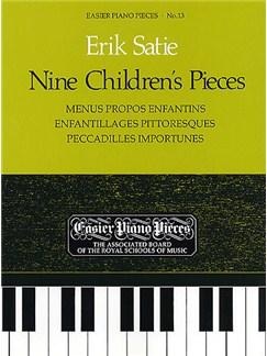 Erik Satie: Nine Children's Pieces Books | Piano