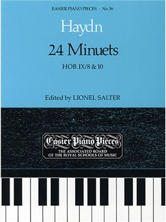 Franz Joseph Haydn: 24 Minuets - Hob.IX/8 & 10 Books | Piano