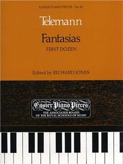 Georg Philipp Telemann: Fantasias (First Dozen) Books   Piano