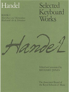 G.F. Handel: Selected Keyboard Works - Book I Books | Piano