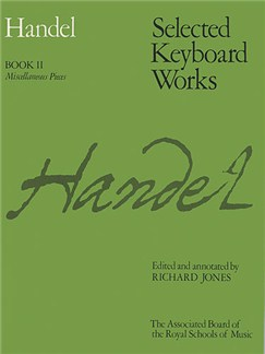 G.F.Handel: Selected Keyboard Works - Book II Books | Harpsichord, Piano