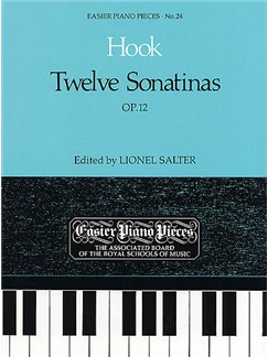 James Hook: Twelve Sonatinas Op.12 Books | Harpsichord, Keyboard, Piano