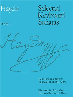 Joseph Haydn: Selected Keyboard Sonatas - Book I Books | Piano, Harpsichord