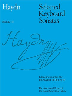 Joseph Haydn: Selected Keyboard Sonatas Book III Books | Piano