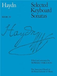 Joseph Haydn: Selected Keyboard Sonatas Book IV Books | Piano