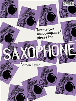 Twenty-Two Unaccompanied Pieces For Saxophone Books | Alto Saxophone, Saxophone, Tenor Saxophone