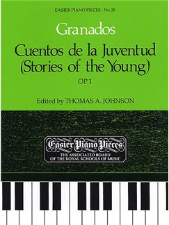 Enrique Granados: Cuentos De La Juventud Op.1 (Stories For The Young) Books | Piano