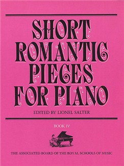 Short Romantic Pieces For Piano Book 4 Books | Piano