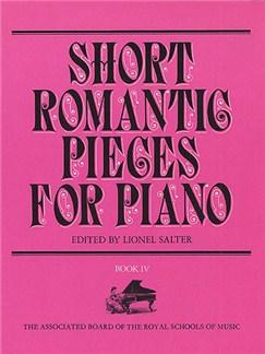 Short Romantic Pieces For Piano Book 4 Books   Piano