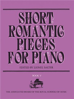 Short Romantic Pieces For Piano Book 5 Books | Piano