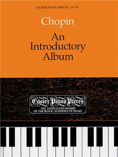Frederic Chopin: An Introductory Album Books | Piano