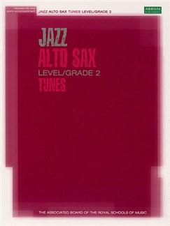 Associated Board: Jazz Alto Sax Tunes Level/Grade 2 (Book/CD) Books and CDs | Alto Saxophone, Piano Accompaniment