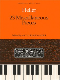 Stephen Heller: 23 Miscellaneous Pieces Books | Piano