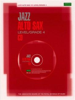 ABRSM Jazz: Alto Sax Level/Grade 4 (CD) CDs | Alto Saxophone