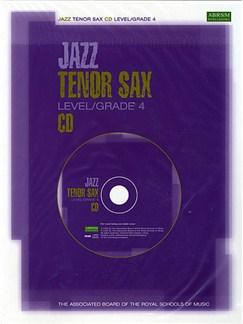 ABRSM Jazz Tenor Sax Level/Grade 4 CD CDs | Tenor Saxophone