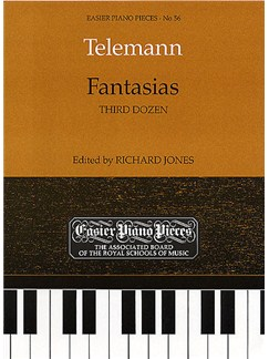 Fantasias (Third Dozen) Books | Harpsichord, Keyboard, Piano
