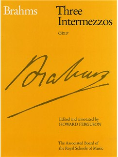 Johannes Brahms: Three Intermezzos Op.117 Books | Piano