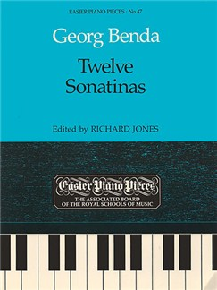 Georg Benda: Twelve Sonatinas Books | Piano
