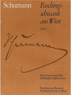 Robert Schumann: Faschingsschwank Aus Wien, Op. 26 Books   Piano
