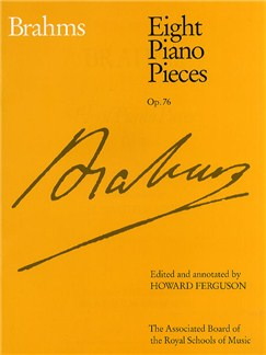 Johannes Brahms: Eight Piano Pieces Op.76 Books | Piano