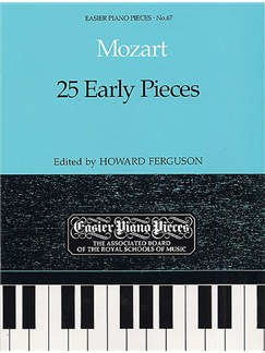 W.A. Mozart: 25 Early Pieces Books | Piano