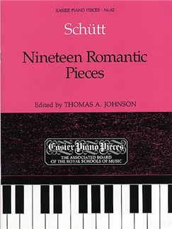 Nineteen Romantic Pieces Books | Piano