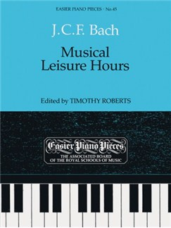 J.C.F Bach: Musical Leisure Hours Books | Piano