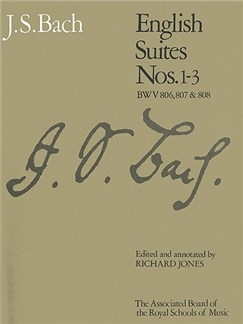 J.S. Bach: English Suites Nos.1-3 (ABRSM) Books | Piano