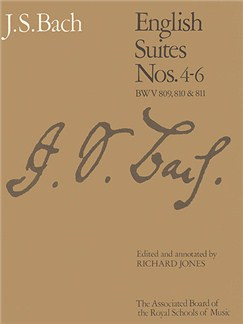 J.S. Bach: English Suites Nos. 4 - 6 (ABRSM) Books | Piano