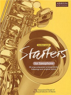 Gordon Lewin: Starters For Saxophone Books | Alto Saxophone