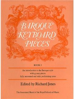 Baroque Keyboard Pieces Book 1 Books | Piano, Harpsichord, Organ