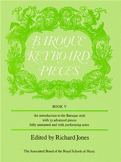 Baroque Keyboard Pieces Book 5 Books | Piano, Harpsichord