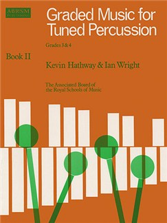 ABRSM Graded Music For Tuned Percussion - Book 2 Grades 3-4 Books | Xylophone/Marimba